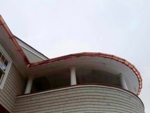 Radius Gutters - K-Style or Half-Round Westchester NY